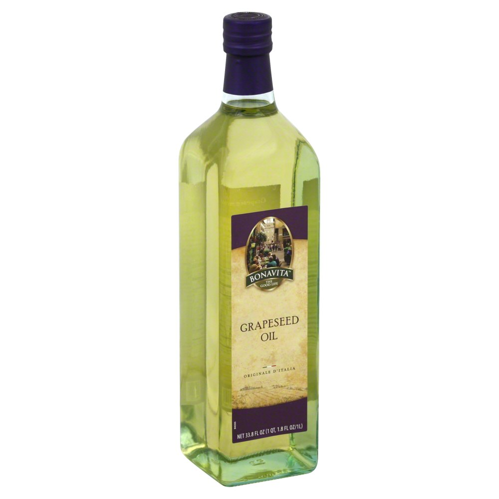 BONAVITA: Grapeseed Oil, 33.8 oz