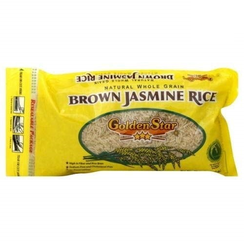 GOLDEN STAR: Brown Jasmine Rice Premium Grade, 28 oz
