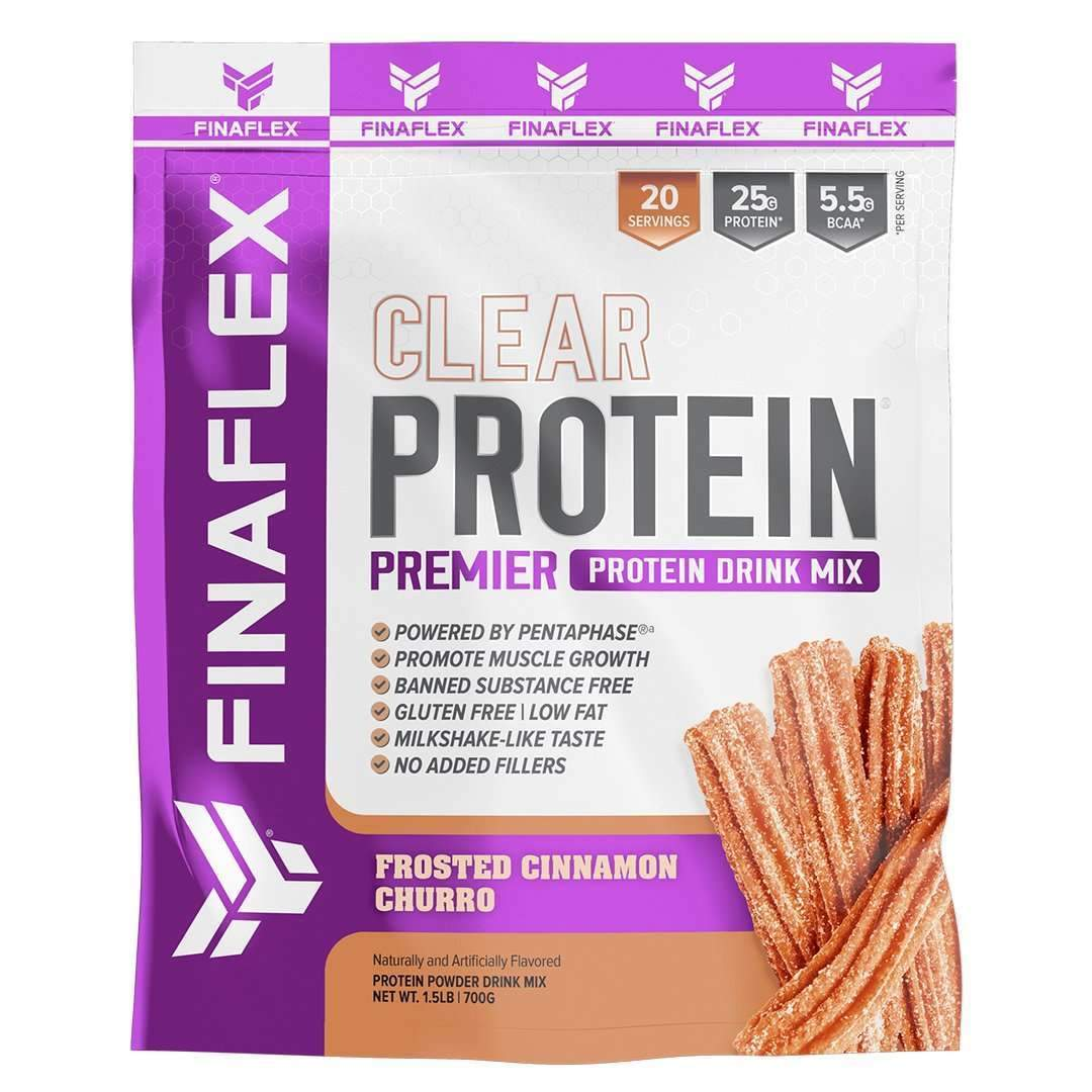 REDEFINE NUTRITION LLC: Clear Protein Drink Mix Frosted Cinnamon Churro, 1.5 lb
