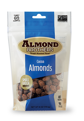 ALMOND BROTHERS: Almonds Cocoa Roasted, 15 lb