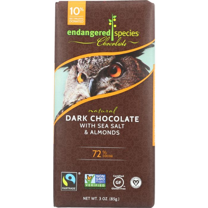 Endangered Species natural dark chocolate is a great gift for Mother's Day.