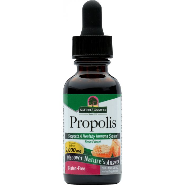NATURES ANSWER: Propolis Resin Alcohol Free, 1 oz