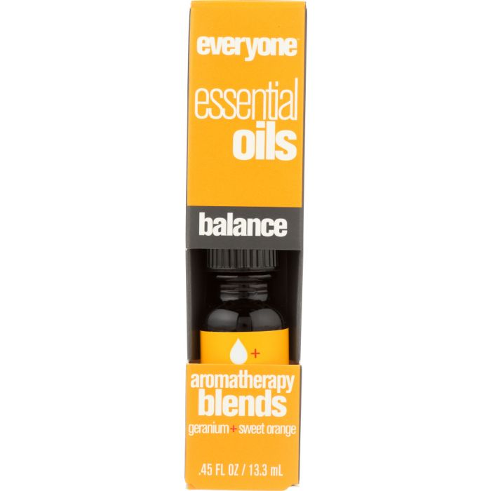 EVERYONE: Aromatherapy Blend Pure Essential Oil Balance, 0.45 oz