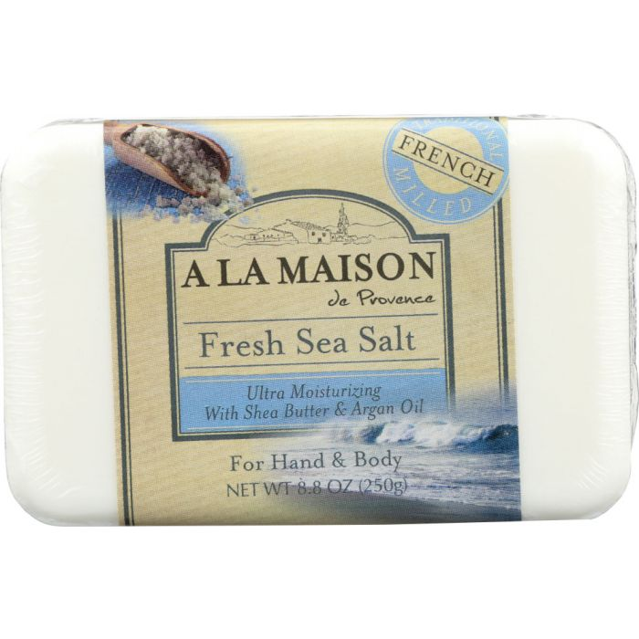A LA MAISON: Fresh Sea Salt Bar Soap, 8.8 oz