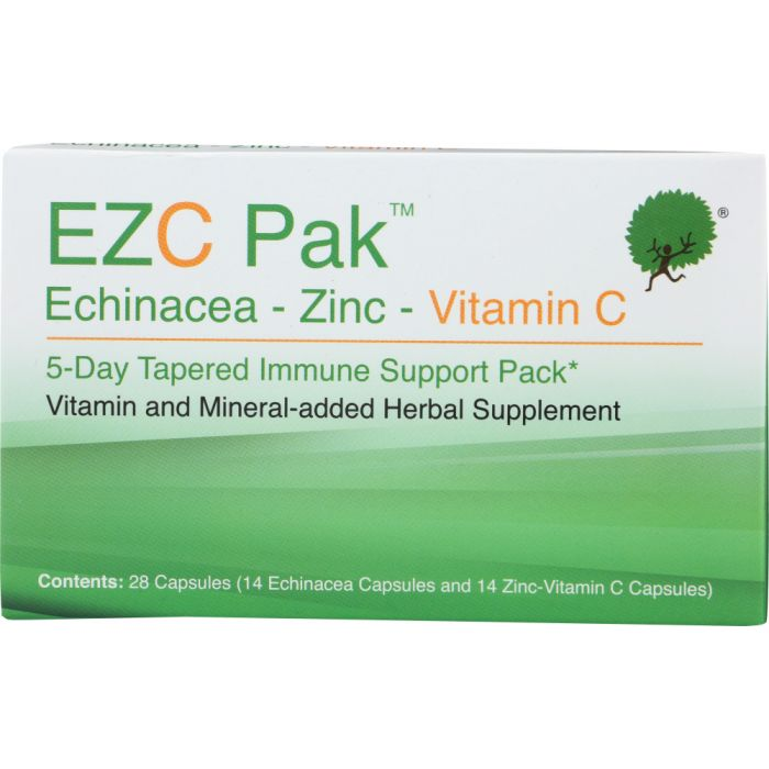 EZC PAK: 5-Day Tapered Immune Support Pack, 28 cp