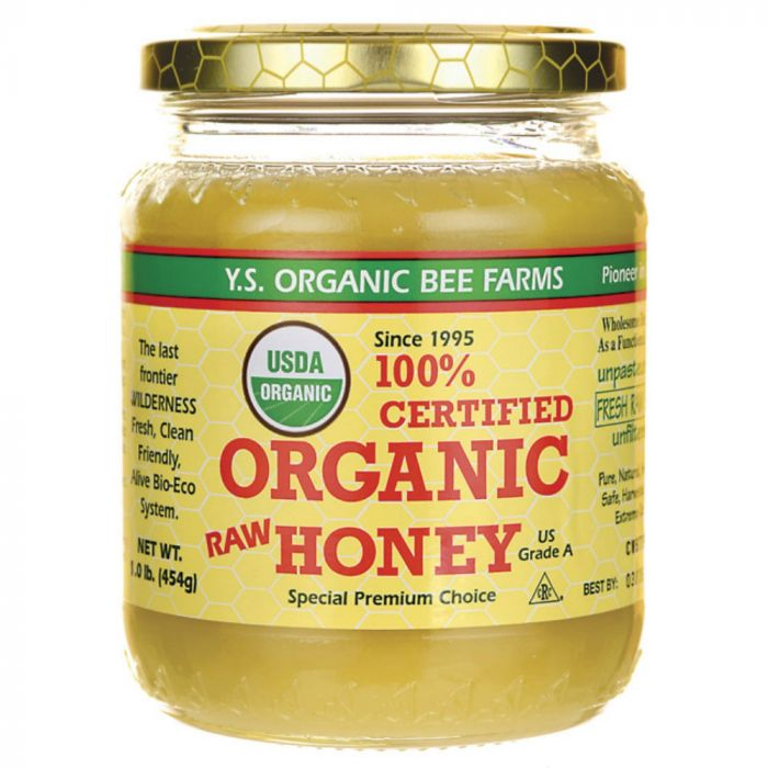 Organic honey is a powerful flu remedy