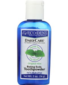 ECO DENT: Toothpowders Mint, 2 oz