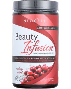NEOCELL: Beauty Infusion Refreshing Collagen Drink Mix Cranberry Cocktail, 11.64 oz
