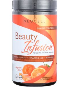NEOCELL: Beauty Infusion Refreshing Collagen Drink Mix Tangerine Twist, 11.64 oz