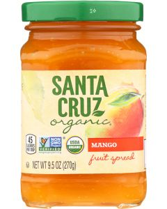 SANTA CRUZ: Fruit Spread Mango, 9.5 oz