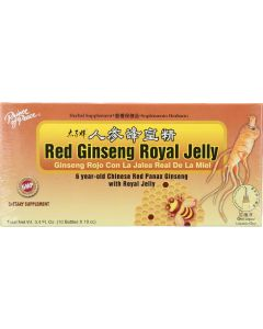 Prince of Peace Red Ginseng Royal Jelly, 10 Bottles