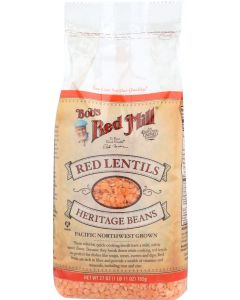BOBS RED MILL: Red Lentils, 27 oz