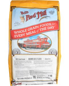 BOBS RED MILL: Brown Rice Flour, 25 lb