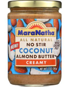 MARANATHA: All Natural Coconut Almond Butter Creamy, 12 oz