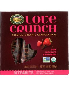 NATURES PATH: BAR LOVE CRNCH CHOC RED (6.350 OZ)