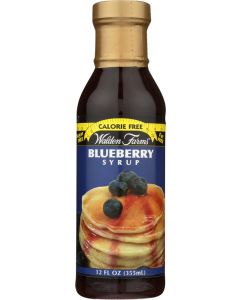 WALDEN FARMS: Calorie Free Blueberry Syrup, Sweetened With Splenda, 12 oz