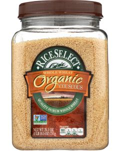 RICESELECT: Organic Whole Wheat Couscous, 26.5 oz