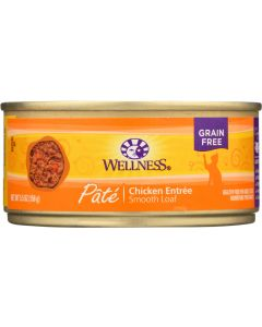 WELLNESS: Canned Cat Food Chicken Formula, 5.5 oz