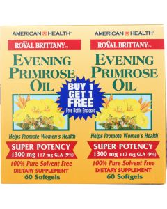 AMERICAN HEALTH: Evening Primrose Oil 1300 mg, 60 + 60 Softgels