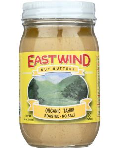 EAST WIND: Nut Butter Organic Tahini, 16 oz
