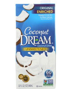 DREAM: Coconut Dream Unsweetened Coconut Drink, 32 fo