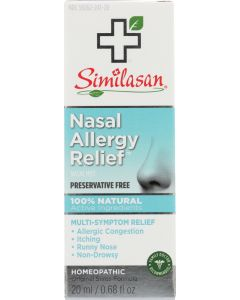 SIMILASAN: Nasal Allergy Relief, 0.68 Oz