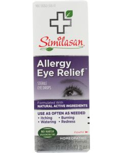 Similasan Allergy Eye Relief Sterile Eye Drops, .33 Oz