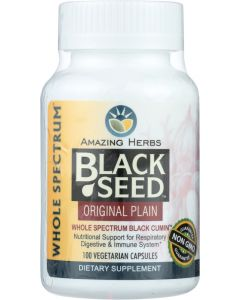 AMAZING HERBS: Black Seed Original Plain, 100 cp