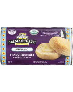 IMMACULATE BAKING: Flaky Natural Biscuits, 16 oz