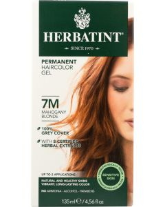HERBATINT: Permanent Hair Color Gel 7M Mahogany Blonde, 4.56 oz