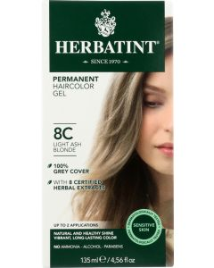 HERBATINT: Hair Color 8c Ash Blonde Lite, 4.56 oz