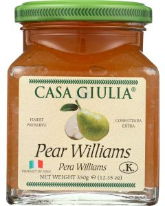 CASA GIULIA: Pear Williams Preserve, 12.35 oz