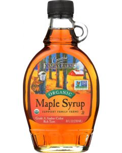 COOMBS FAMILY FARMS: Grade A Organic Maple Syrup Amber, 8 oz