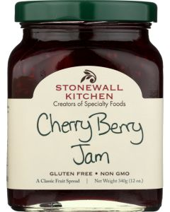 STONEWALL KITCHEN: Cherry Berry Jam, 12 oz