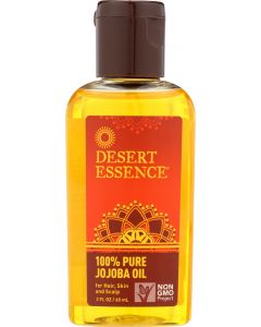 DESERT ESSENCE: 100% Pure Jojoba Oil, 2 oz