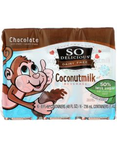SO DELICIOUS: Coconut Asep Chocolate 6 Pack, 48 oz