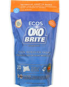 EARTH FRIENDLY: OxoBrite Laundry Booster Packs Free & Clear, 14.5 oz