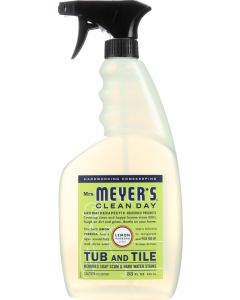 MRS MEYERS CLEAN DAY: Cleaner Tub and Tile Lemon, 33 oz