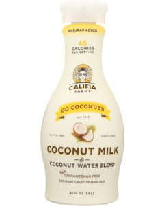 CALIFIA: Go Coconuts Coconutmilk and Water, 48 oz