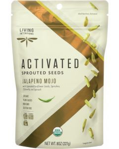 LIVING INTENTIONS: Jalapeno Mojo Sprouted Seeds, 8 oz