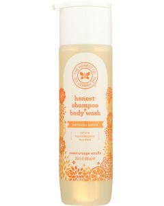 THE HONEST COMPANY: Shampoo Body Wash Orange Vanilla, 10 oz