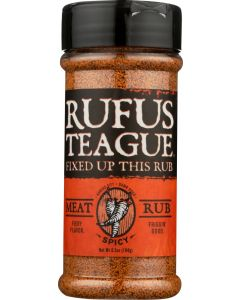 RUFUS TEAGUE: Spicy Meat Rub, 6.5 oz