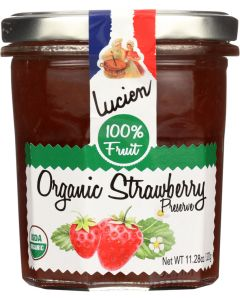 LUCIEN GEORGELIN: Spread Fruit Strawberry Organic, 320 gm
