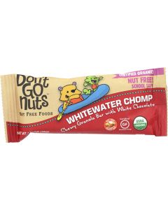 DONT GO NUTS: Organic Bar Snack Whitewater Champ, 36 gm