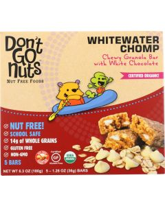 DONT GO NUTS: Whitewater Chomp Bar Multipack, 6.03 oz