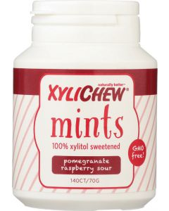 XYLICHEW: Raspberry Pomegranate Sour, 140 pc