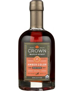 CROWN MAPLE: Amber Color Maple Syrup, 12.7 fo