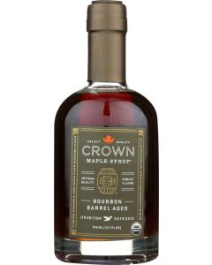 CROWN MAPLE: Syrup Bourbon Barrel Aged, 12.7 fo
