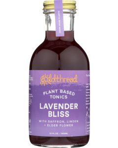 GOLDTHREAD: Lavender Bliss Tonic, 12 fo
