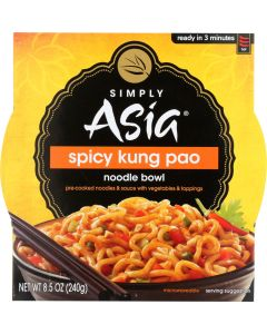 SIMPLY ASIA: Spicy Kung Pao Noodle Bowl, 8.5 Oz
